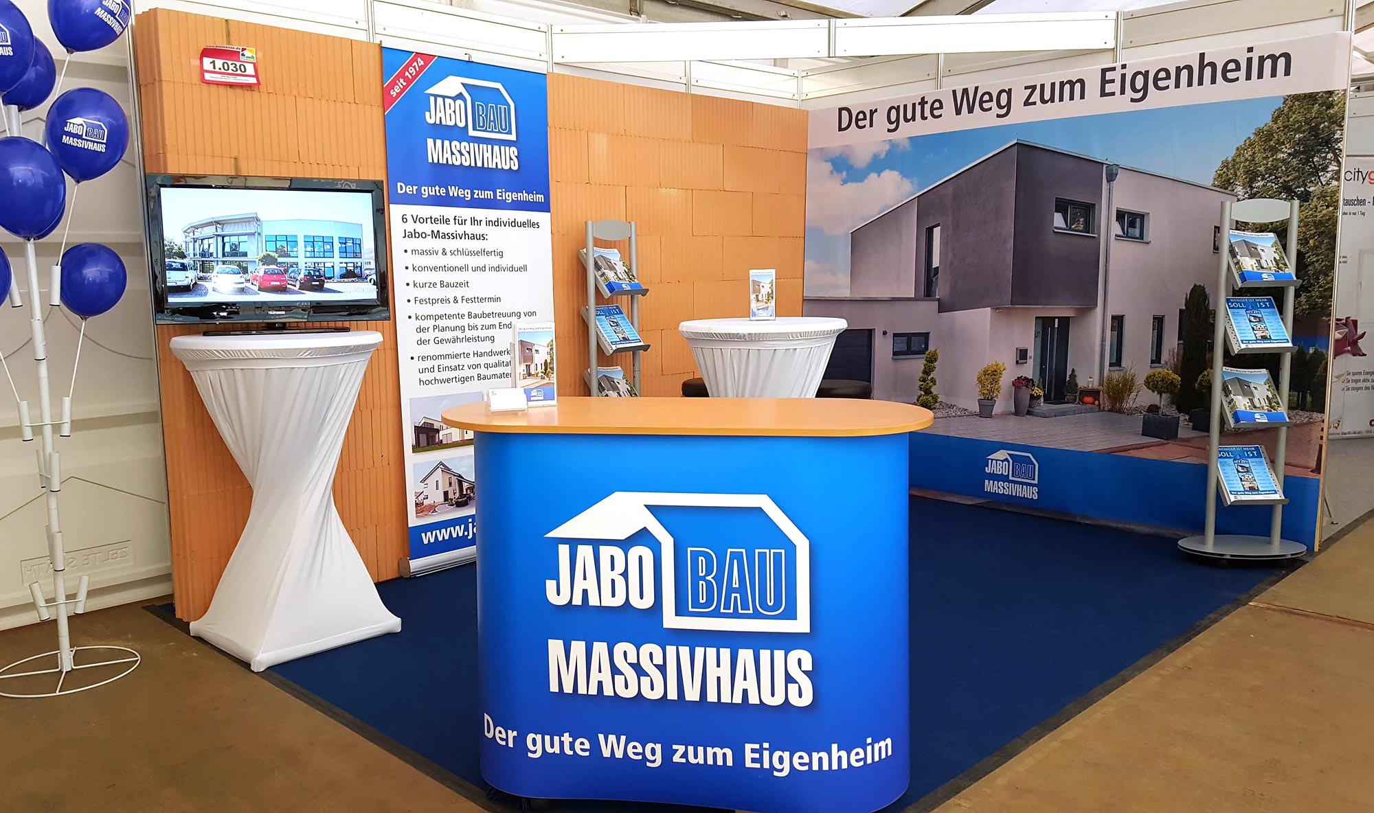 Messestand 2017